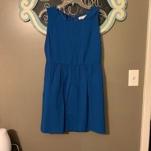 Cute royal blue dress!